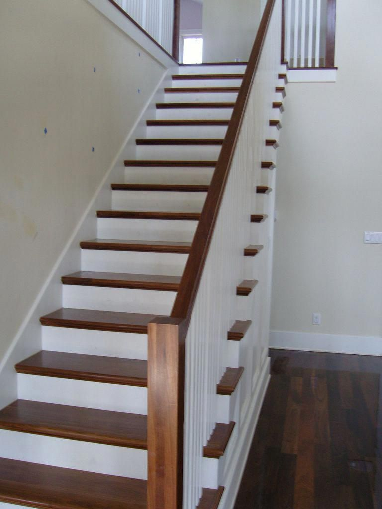 Best Banisterremodel Wood Stair Treads Refinish Stairs 640 x 480