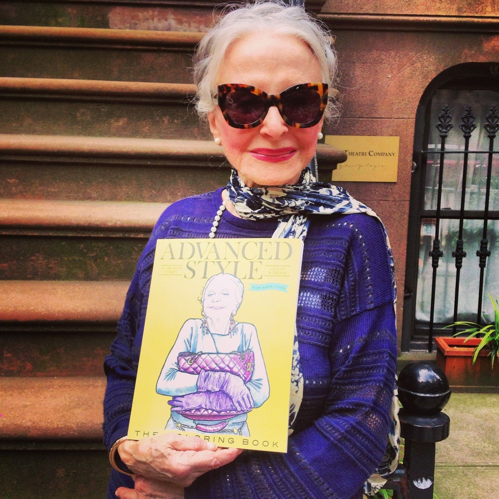 ADVANCED STYLE: Joyce Carpati, The 80-year-old Cover Star of The ...