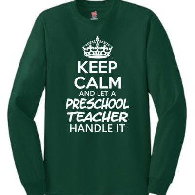Let 1st Grade Teacher Handle It Tee Shirt 1st Grade Teacher T Shirt