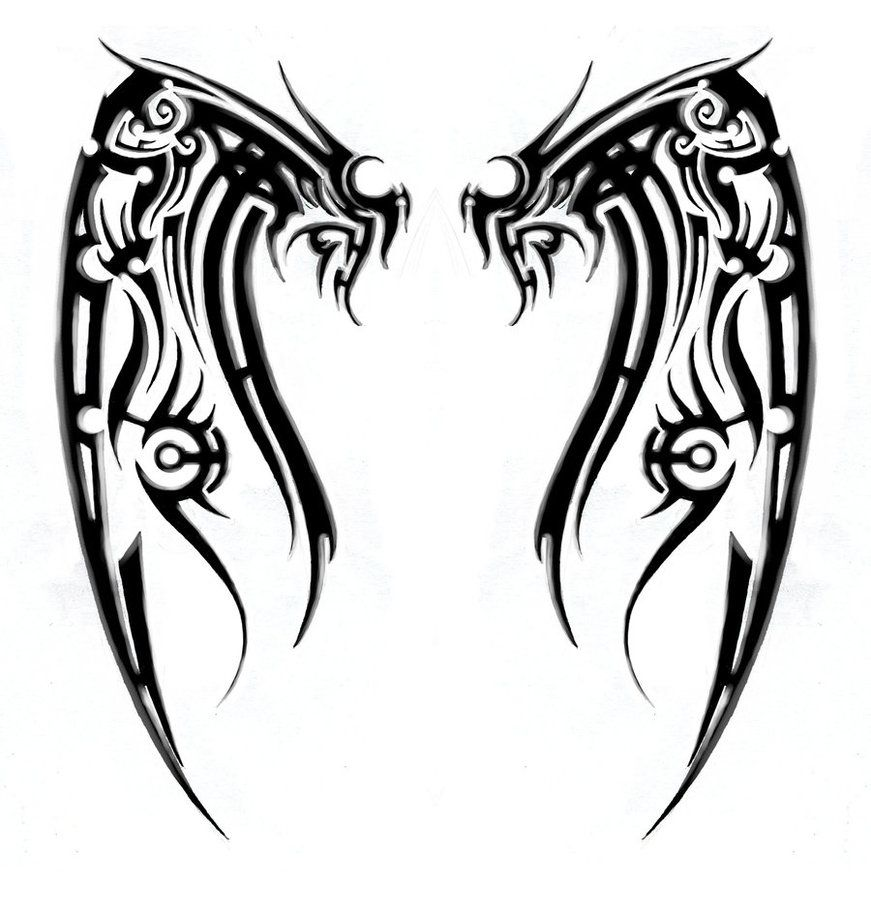 Tribal Designs Images Clipart Best Tribal Tattoos Tribal Back