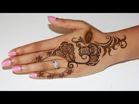 Unique Simple Rose Henna Design 2014 Youtube Heena Henna