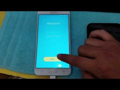 Bypass FRP Google account Samsung Galaxy J7 Prime G610F