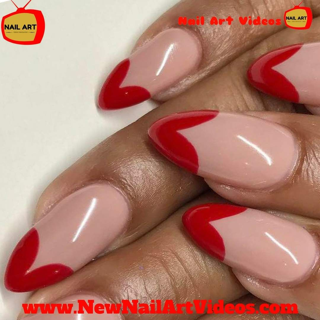 10 Valentine\'s Day Nail Designs And Nail Art Tutorial |Valentine ...