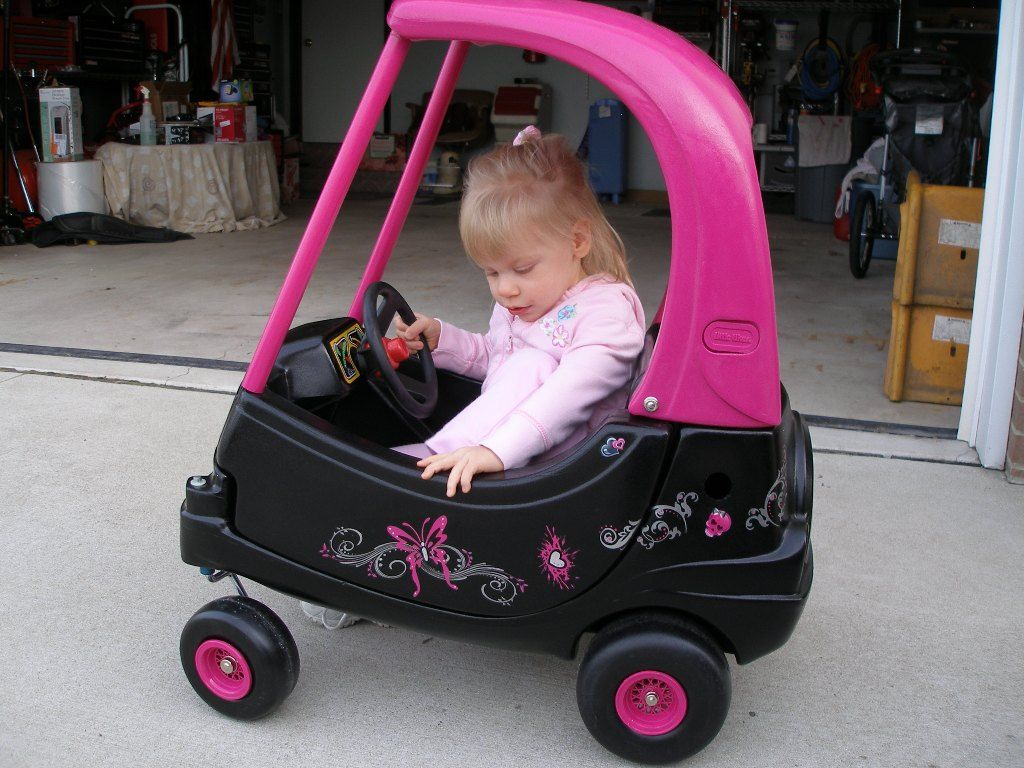 Painted Cozy Coupe For Girl