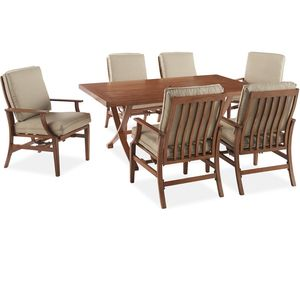 Catalina 7 Piece Dining Set Outdoor Orchard Supply Patio 7