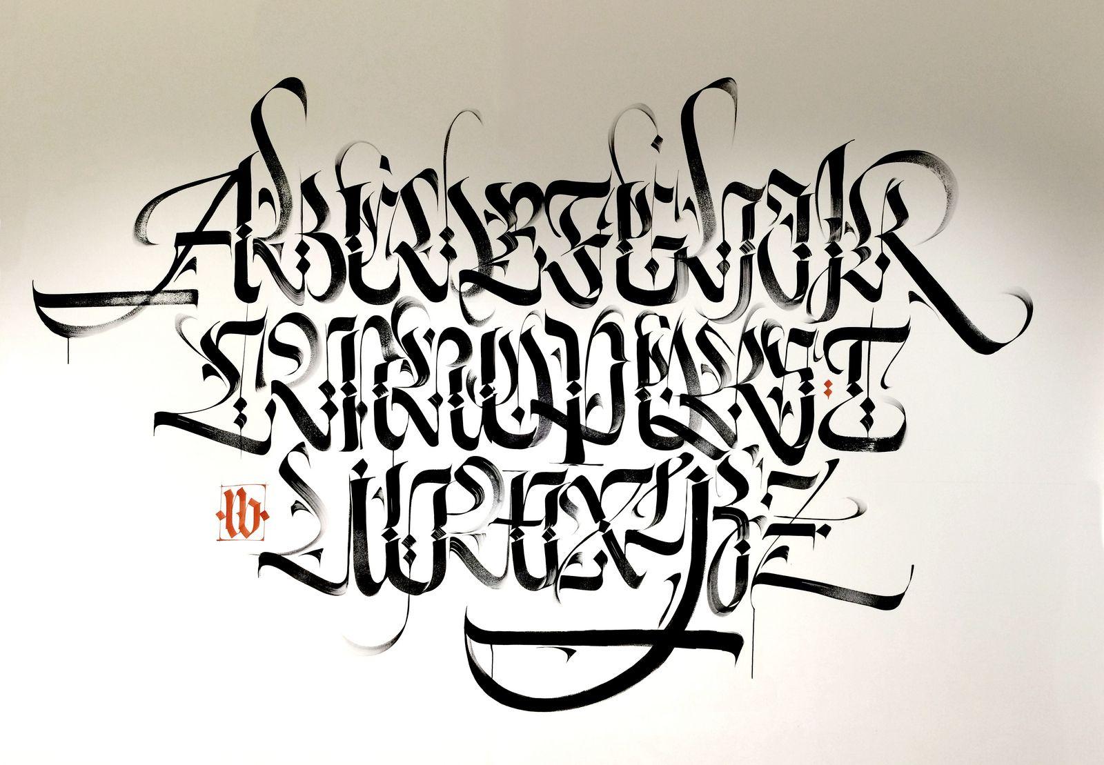 Graffiti Arabic Alphabet
