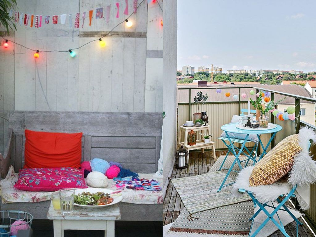 6 claves para la decoración de terrazas modernas boho chic | Doors