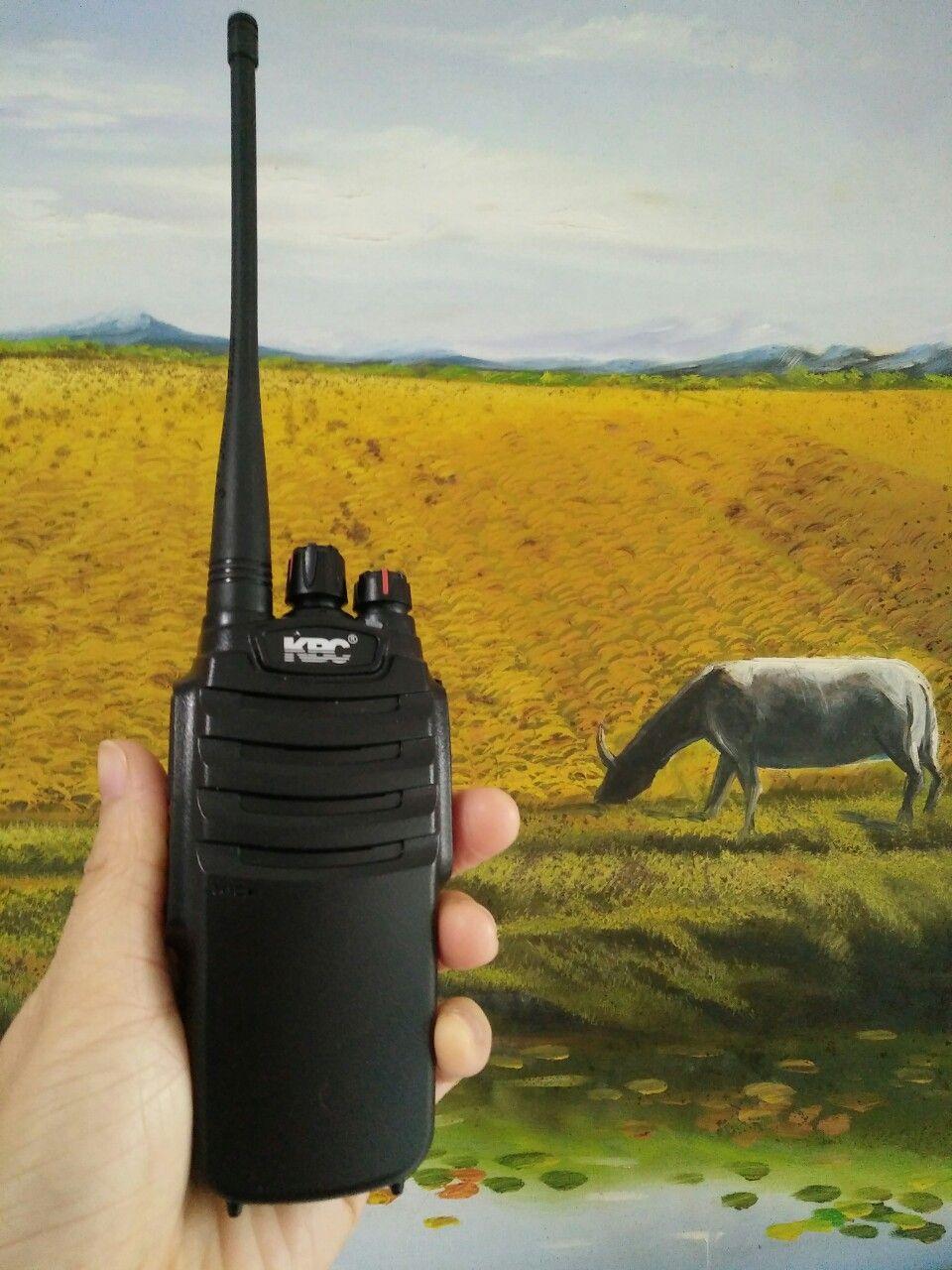 Review sử dụng bộ đàm KBC PT-5000 | Dầm