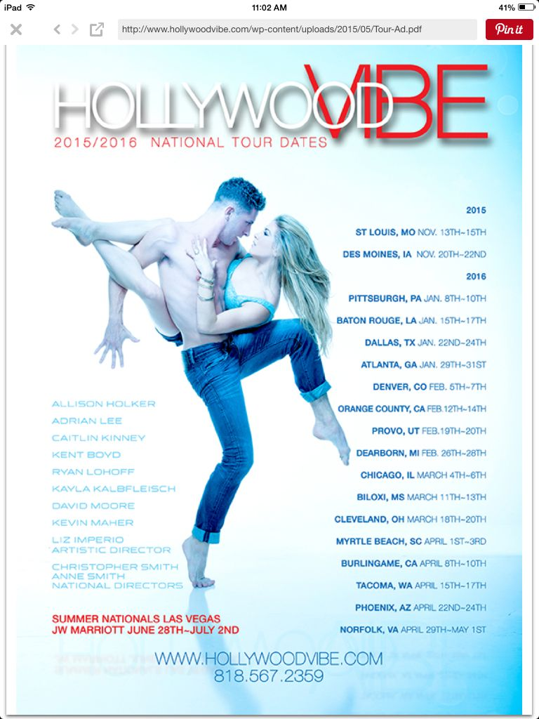 Hollywood Vibe Dance Competition St Louis Baton Rouge