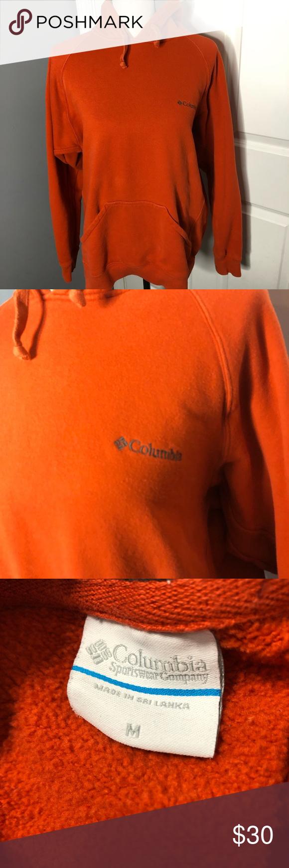 Columbia Men S Burnt Orange Hoodie Columbia Hoodie Orange Hoodie Columbia Shirt [ 1740 x 580 Pixel ]