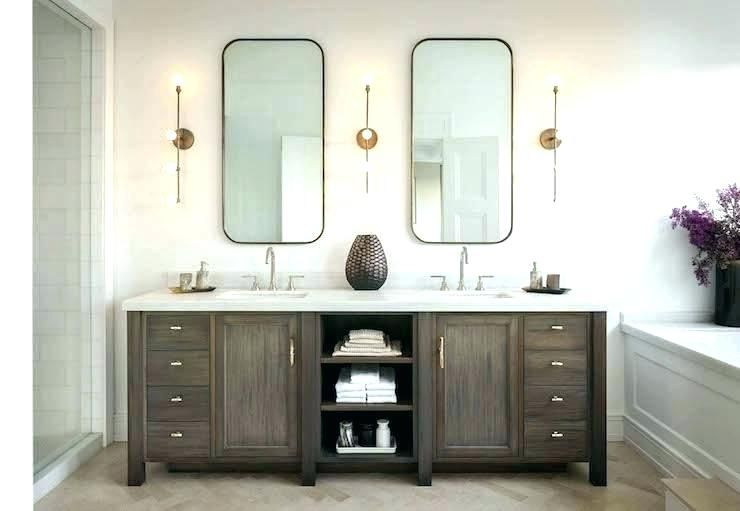 Tall Skinny Mirror Tall Vanity Mirror Tall Skinny Mirror Homely Design Tall Bathroom Tall Na With Images Wood Bathroom Vanity Master Bathroom Vanity Double Vanity Bathroom