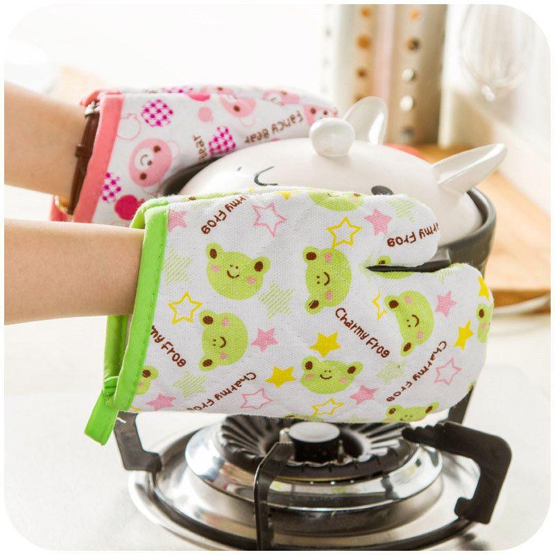 Anti-scalding Glove Clip Silicone Heat Insulation Baking Oven Kitchen Tool US