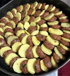 Kartoffel Kebab – Patates Kebabı - Türkische Rezepte