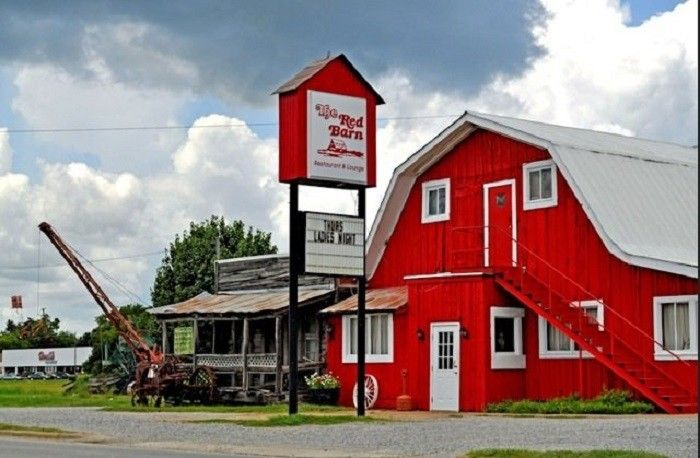 10 Amazing Hidden Alabama Restaurants And Where To Find Them Demopolis Small Towns Red Barn