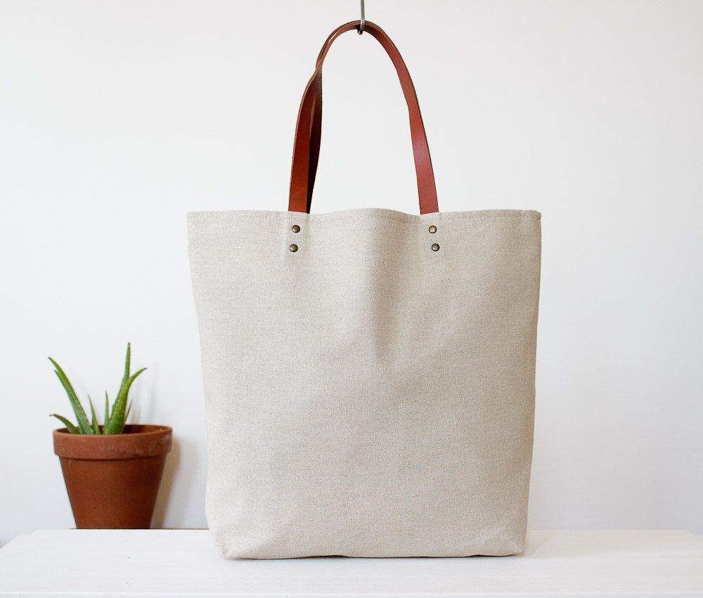 Love this arge tote bag, cotton. €75.00, via Etsy. ---- How is ...