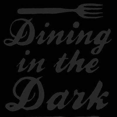 Blind Eating: WEIRD! Yet fascinating.