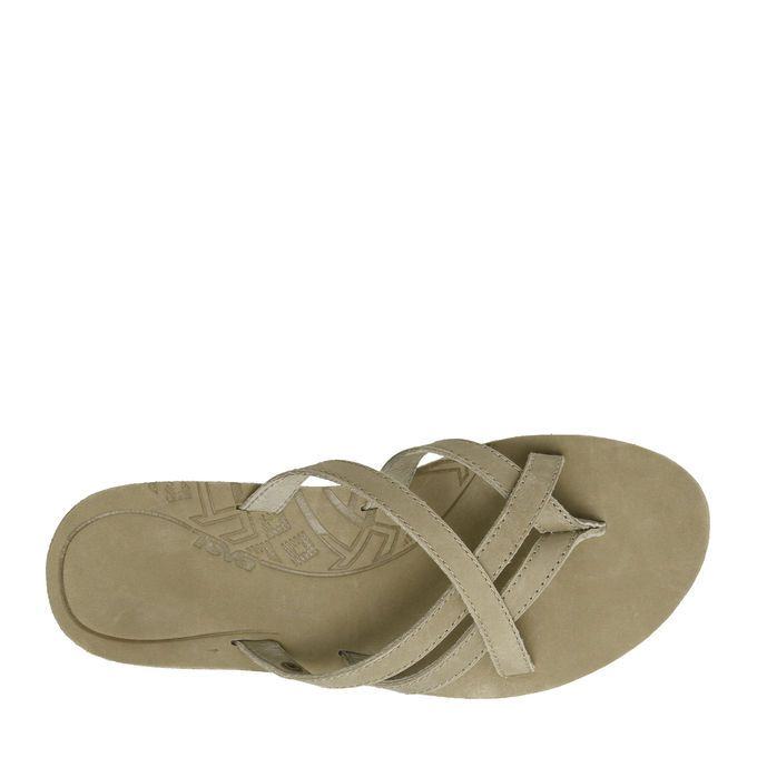 ea13a73a2963 Teva® Olowahu Leather in Sand for Women