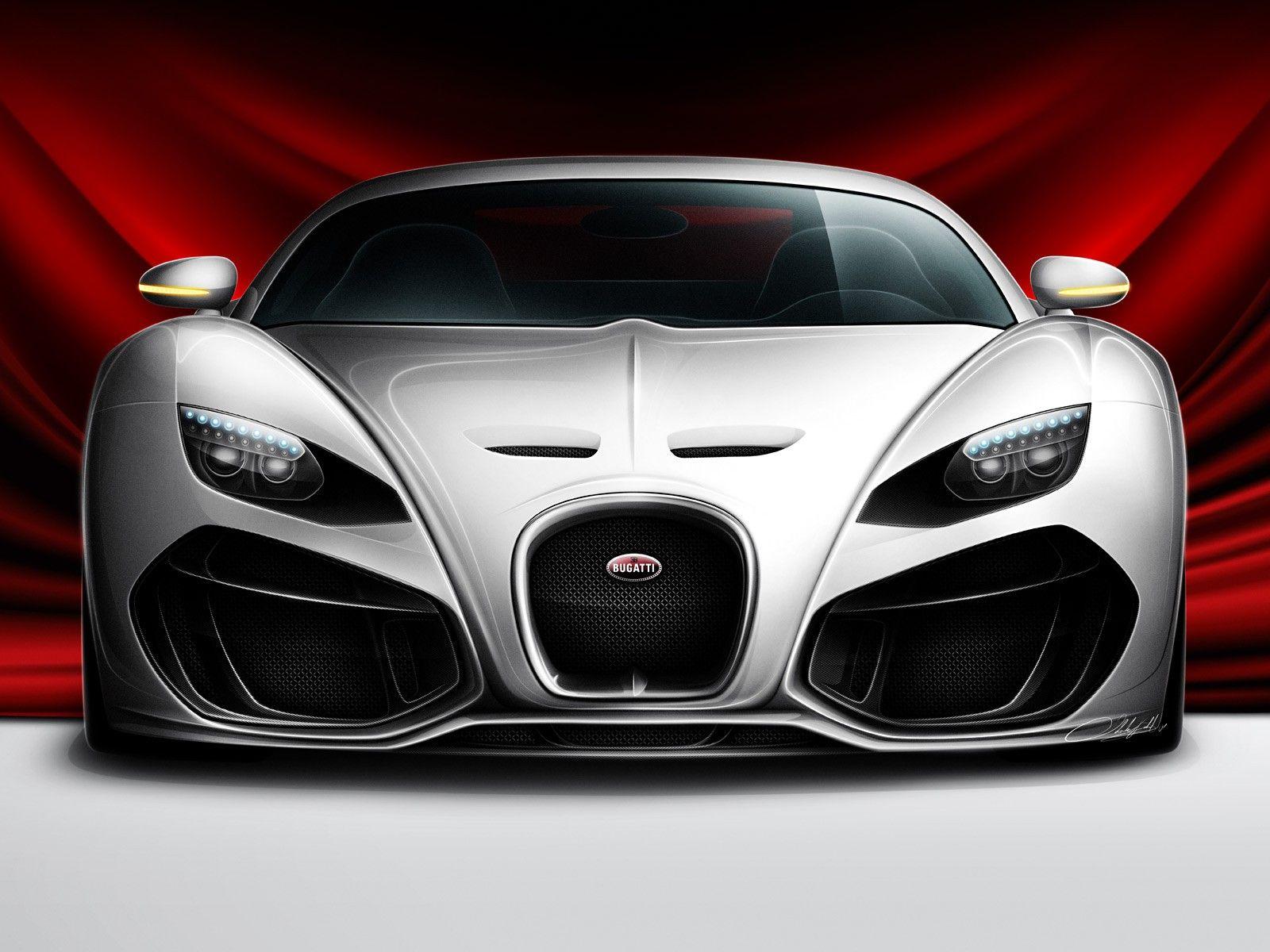 Bugatti Venom Concept Car Hd Wall Sportwagen Bugatti Veyron