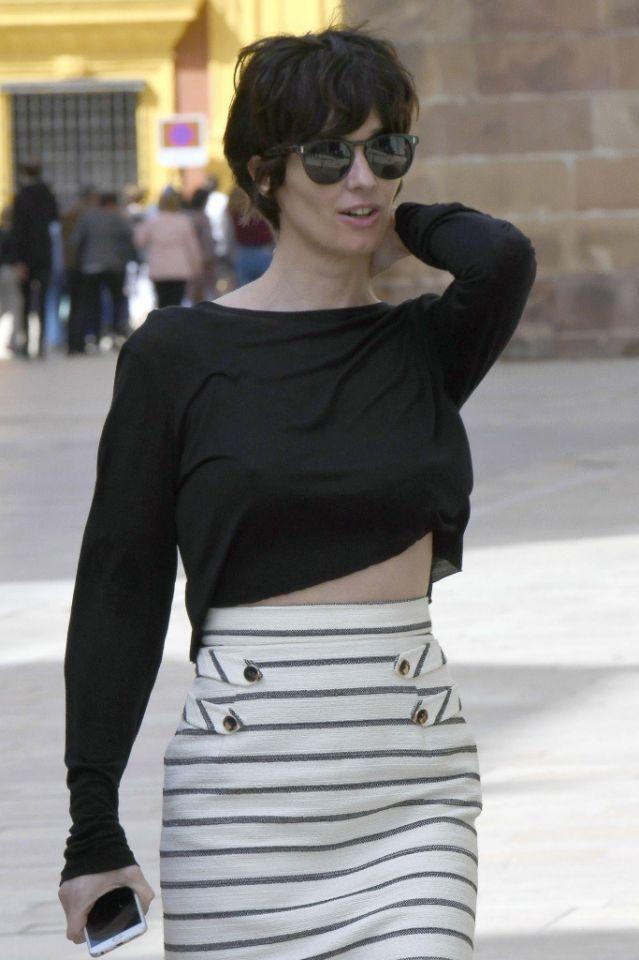 Street Style: Paz Vega y su look chic primaveral
