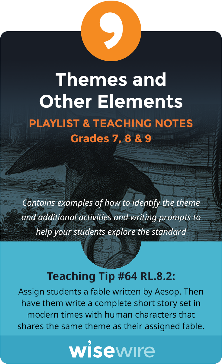 Themes and Other Elements - Playlist and Teaching Notes