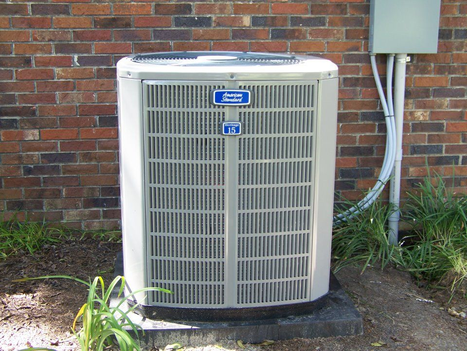 New Outdoor Unit For Lonell Wright Heating And Air Conditioning