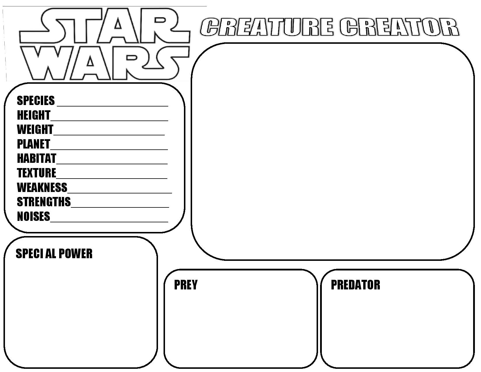 Star Wars Creature Creator