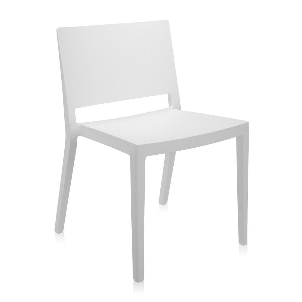Discover the Kartell Lizz Mat Chair - White at Amara | Nikki Emma ...