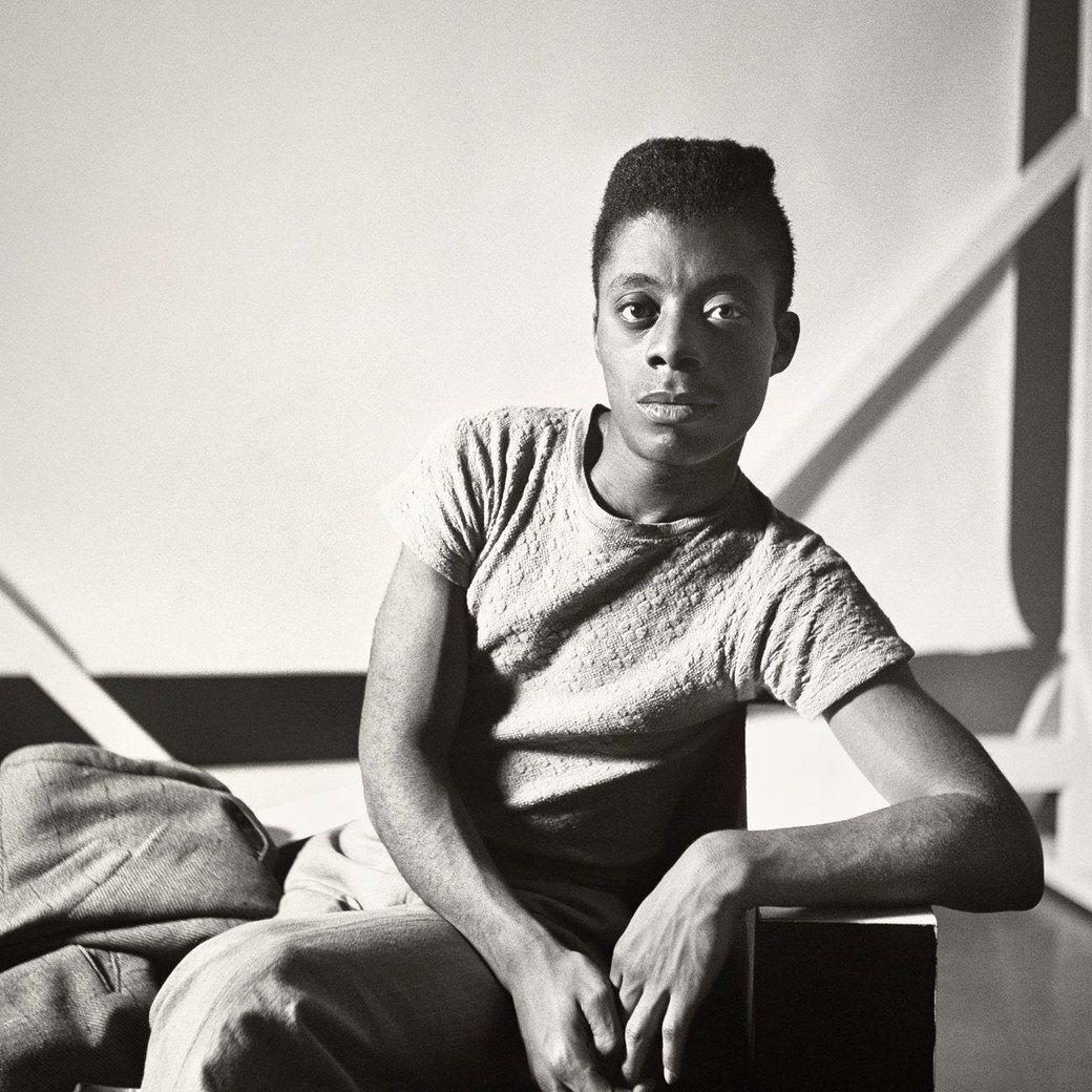 Young James Baldwin