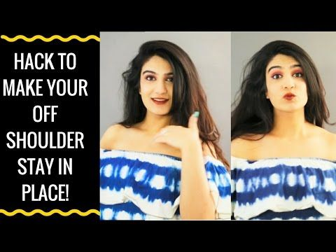 9e40aead0f943 How to keep off shoulder tops in place