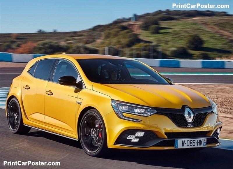 Renault Megane Rs 2018 Poster Id 1341974 Renault Megane Renault Car Posters