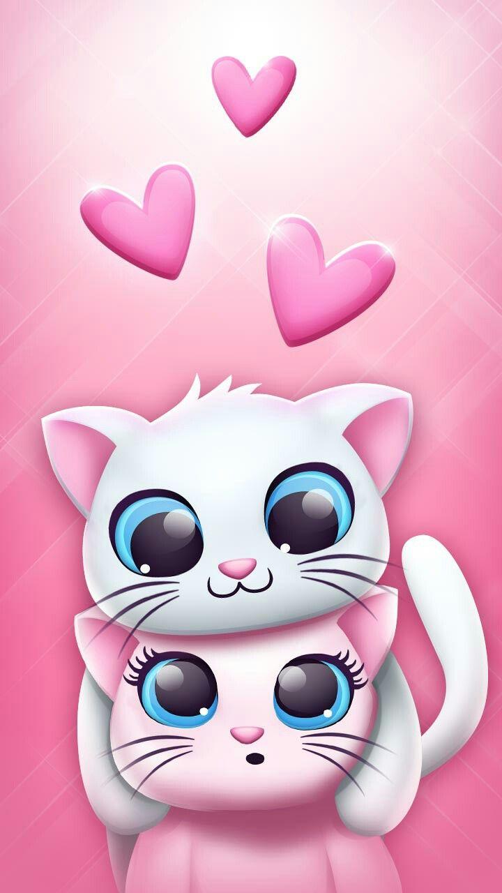 Cute wallpaper sfondi pinterest wallpaper kawaii and cat cute wallpaper voltagebd Gallery