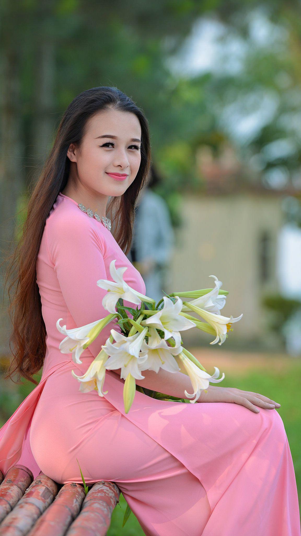 Pin de Trancuongdad@gmail.com en Vietnamese long dress 1 | Pinterest ...