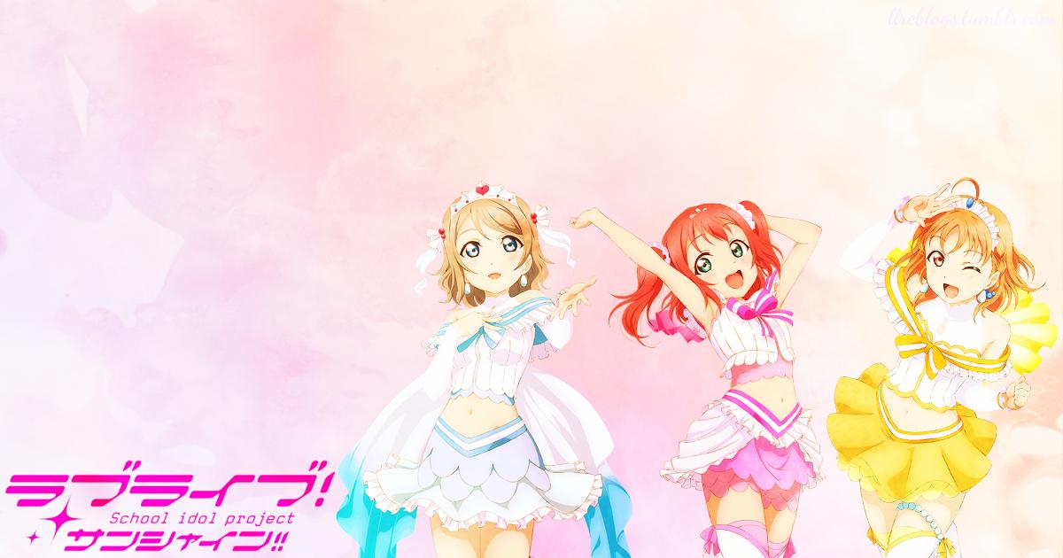 13 Anime Live Desktop Wallpapers Love Live Sunshine Subunit Desktop Wallpapers Trend Anime Wallpaper Download Hd Anime Wallpapers Beautiful Live Wallpaper