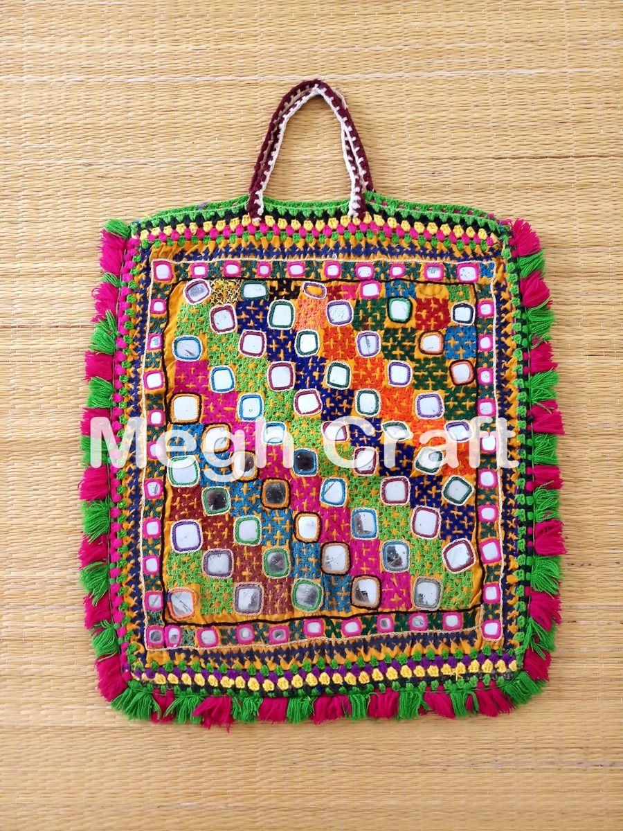 324deeb0d397 Tribal Kutch Mirror Work Theli Bag- Hand Embroidery Mirror Work Theli BAG