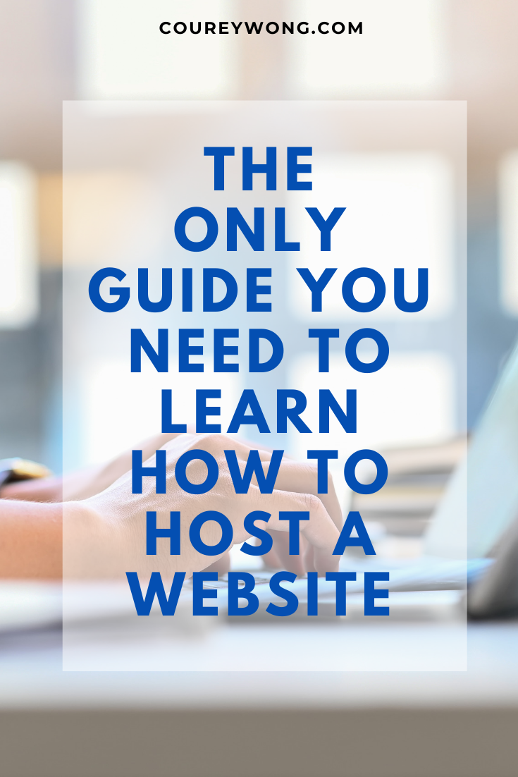 How To Easily Host Your Own Website In 2020 Learn Web Development Learning Web Learn Computer Science