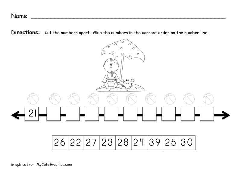 ordering numbers 21 30 | KINDER-GARTEN ROOM | Pinterest | 21st ...