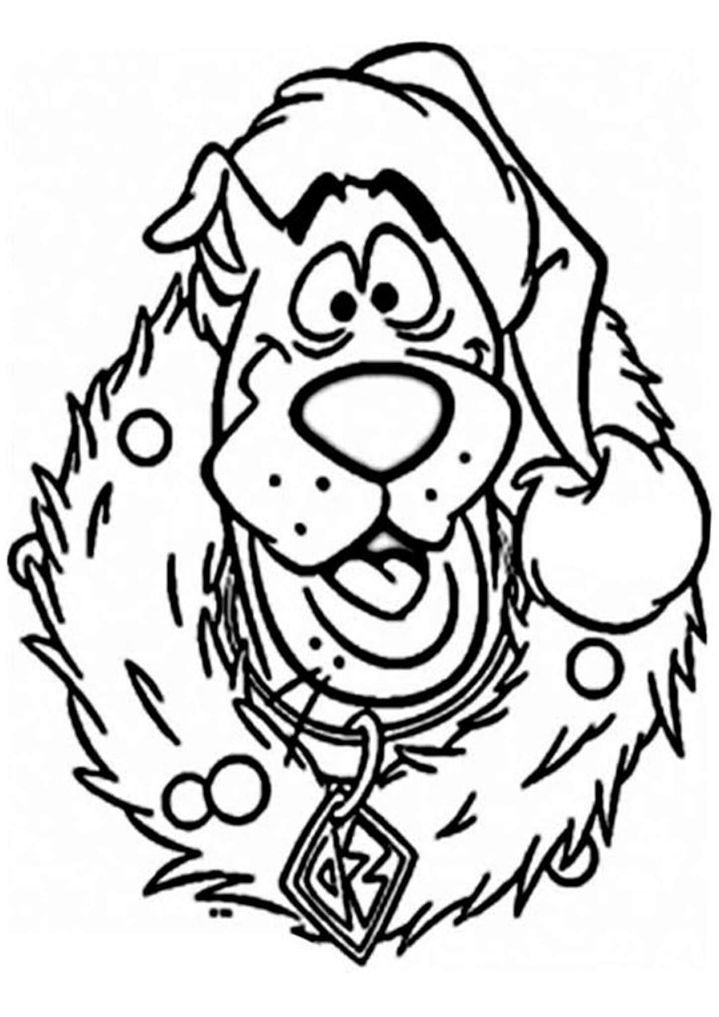 Free Easy To Print Scooby Doo Coloring Pages In 2020 Printable Christmas Coloring Pages Disney Coloring Pages Free Christmas Coloring Pages