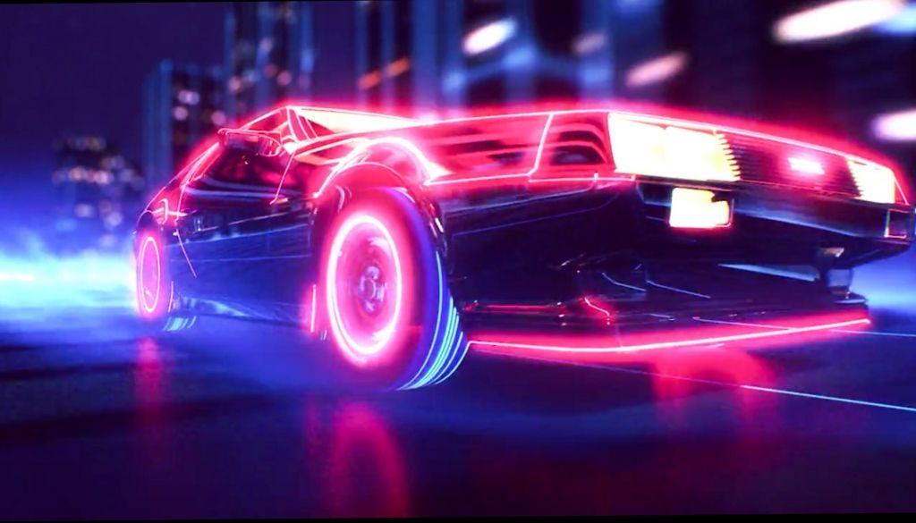 Fond D Ecran Gratuit Retro Waves Neon Synthwave