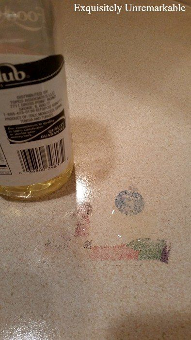 Removing Ink Stains From Laminate Countertop Cleaning My