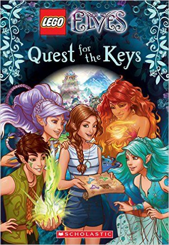Amazoncom Quest For The Keys Lego Elves Chapter Book 1
