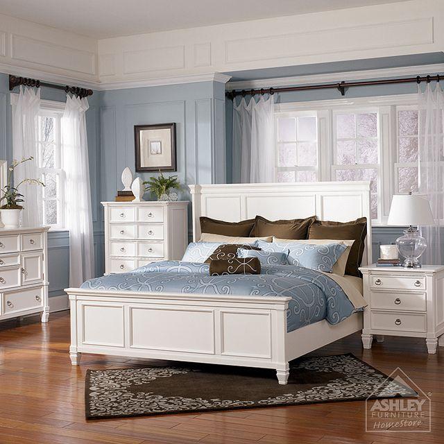 Ashley Furniture Homestore Prentice Panel Bed White Bedroom Set Ashley Furniture Bedroom Bedroom Furniture Sets