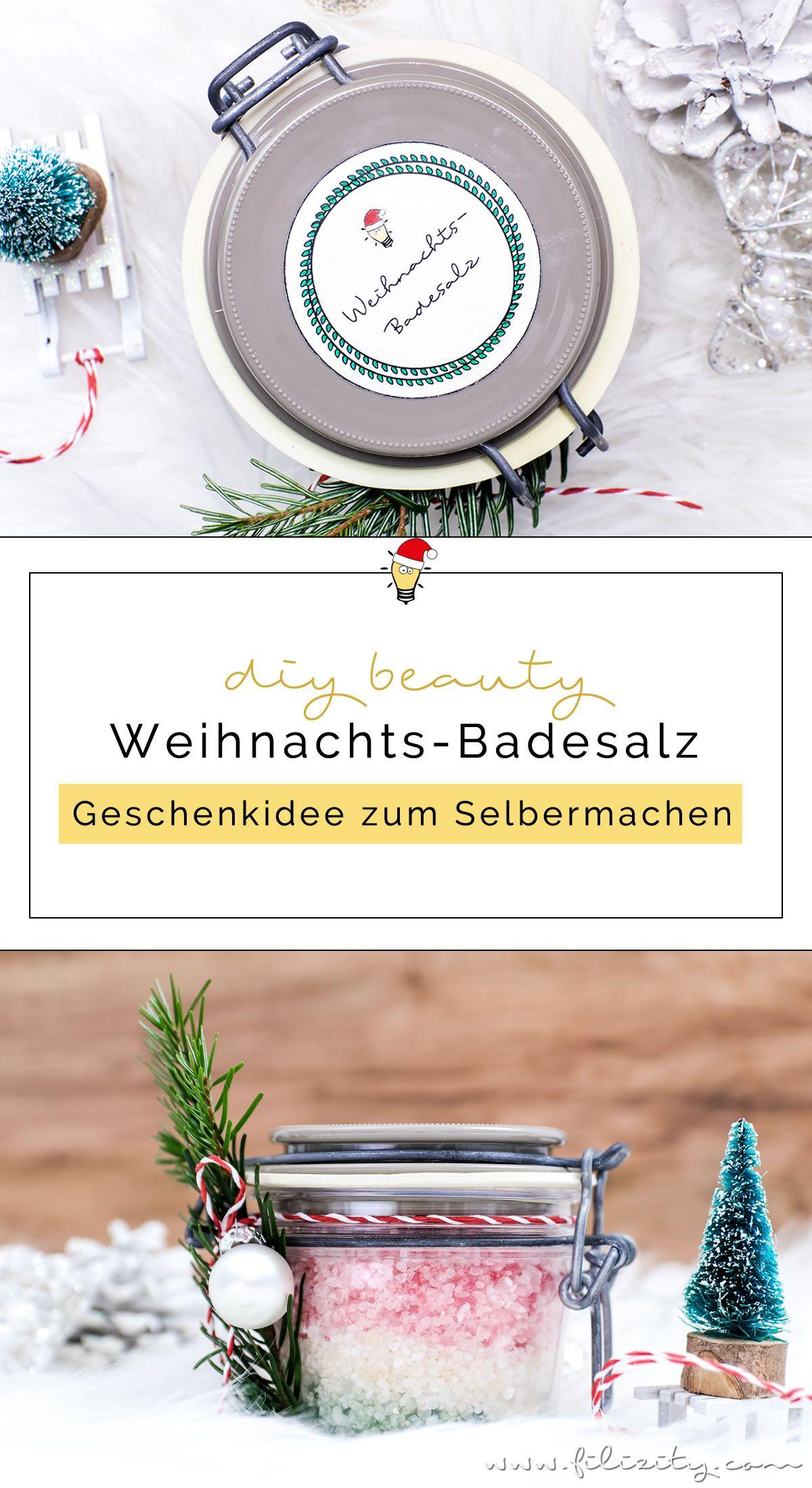 Geschenkidee: DIY Weihnachts-Badesalz | Filizity.com | Beauty-Blog aus dem Rheinland