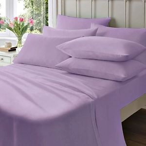Luxury 100/% Egyptian Cotton Fitted Sheets 200 Thread Count Single Double King SK