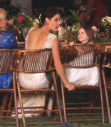 Cobie Smulders And Her Daughter Shaelyn Cado Killam At Cobie S Wedding Beautiful Cobie Smulders How I Met Your Mother Wedding