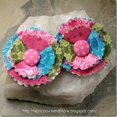 How To Make Your Own Bows And Flowers #fabricbowtutorial