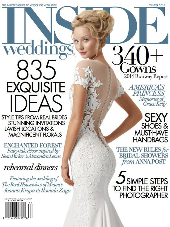 9052bacf62a5 Featured wedding held at Beverly Wilshire in Inside Weddings Magazine