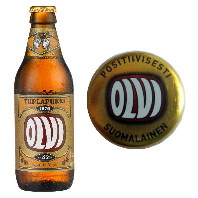287 Olvi Beer Bottle Bottle Beer