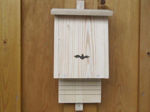 fledermauskasten nistkasten fuer fledermaeuse fledermaus fledermausnistkasten neu. Black Bedroom Furniture Sets. Home Design Ideas