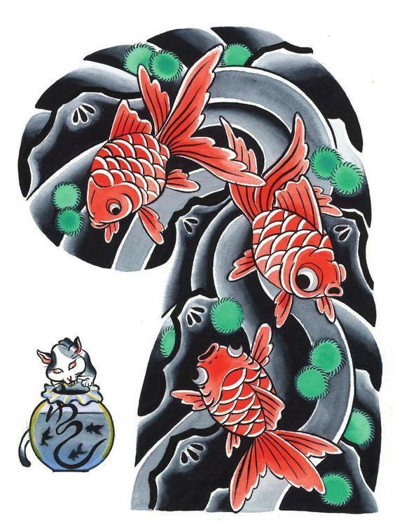 Garyou Tensei. 108 Japanese tattoo sleeve designs by Yushi ...
