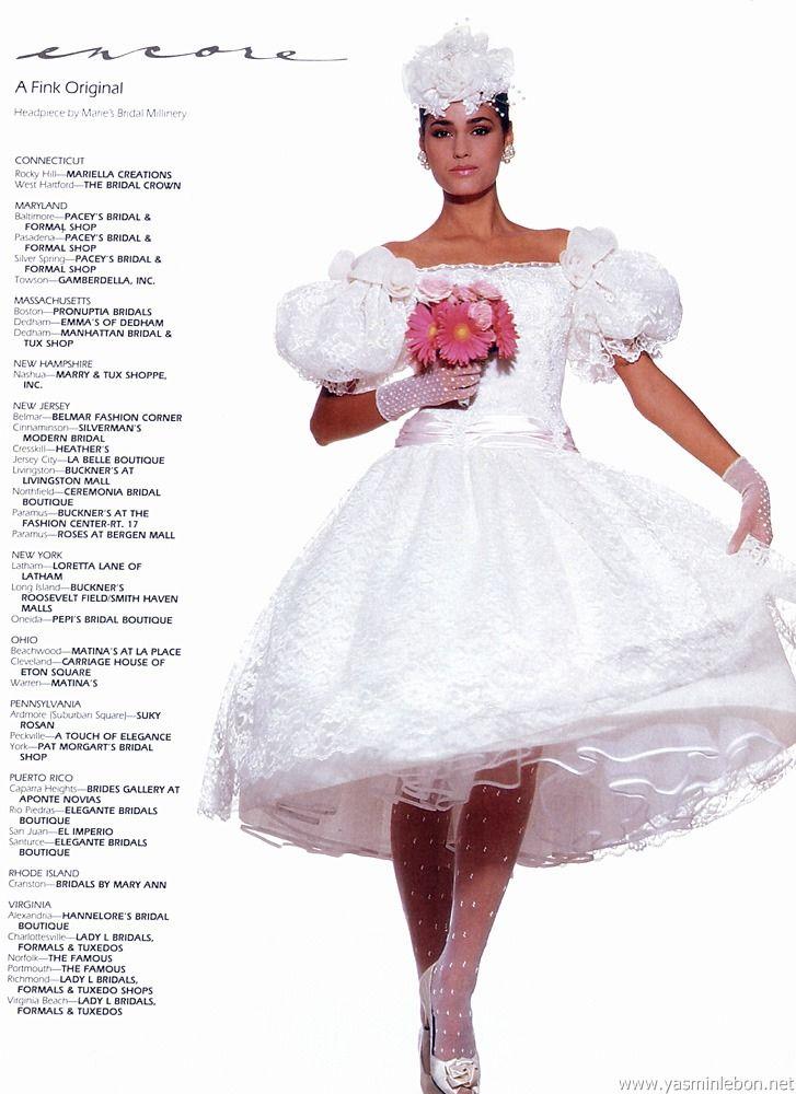 Encore, 1987 Model : Yasmin Le Bon Uploaded by 80s-90s-supermodels ...